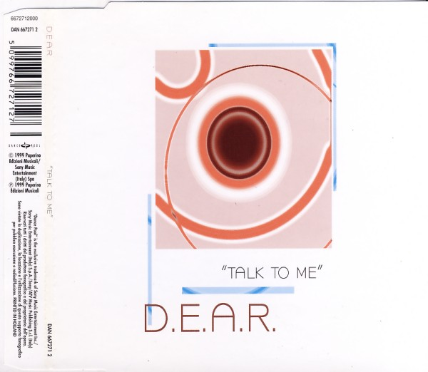 DEAR - Talk To Me - MCD