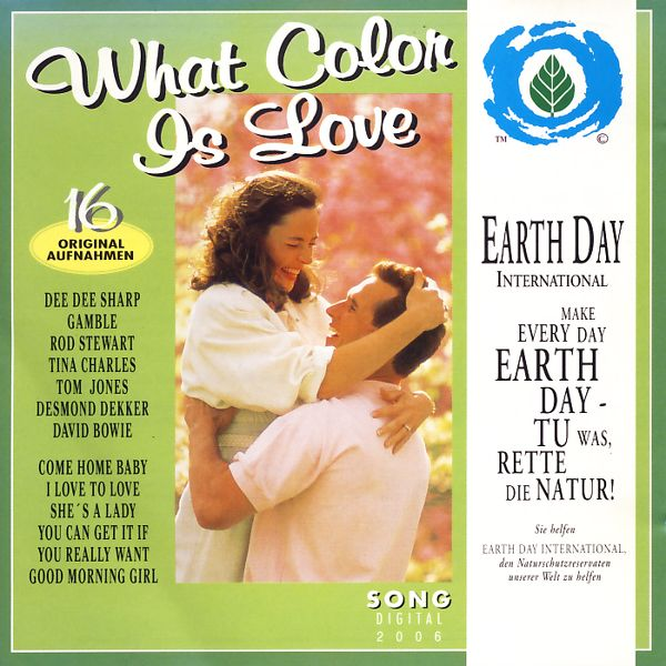 VARIOUS - What Color Is Love - CD