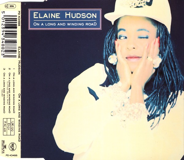 HUDSON, ELAINE - On A Long And Winding Road - CD Maxi