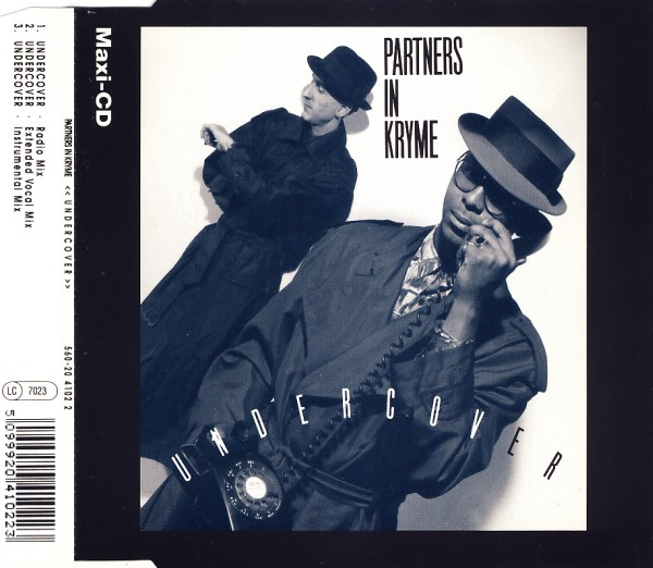 PARTNERS IN KRYME - Undercover - CD Maxi