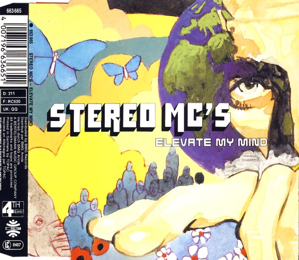 STEREO MC'S - Elevate My Mind - MCD