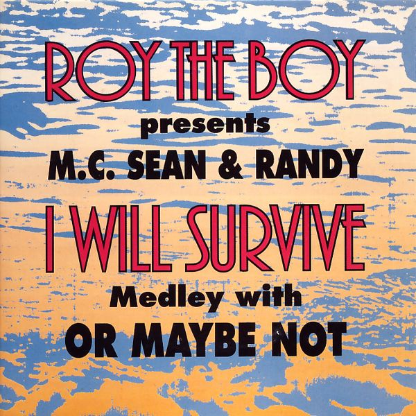 ROY THE BOY PRES. MC SEAN & RANDY - I Will Survive Medley With Or Maybe Not - 3 inch CD