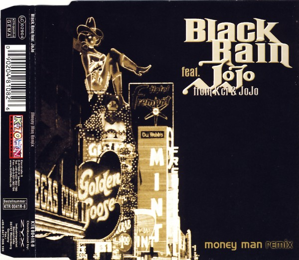 BLACK RAIN - Money Man - CD Maxi