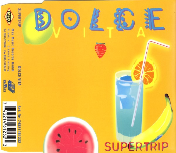 SUPERTRIP - Dolce Vita - CD Maxi