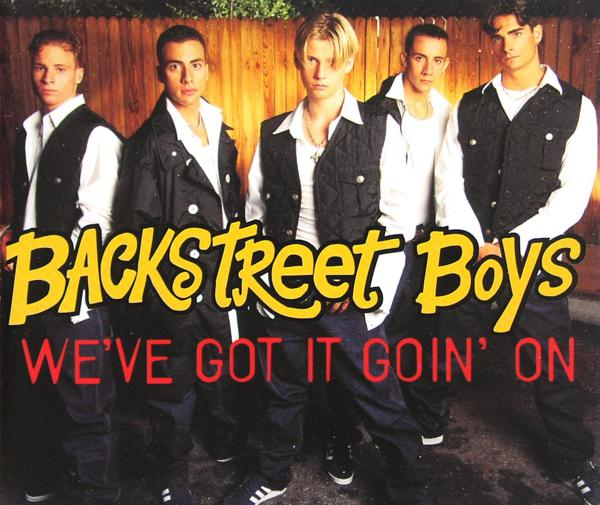 BACKSTREET BOYS - We've Got It Goin' On - CD Maxi