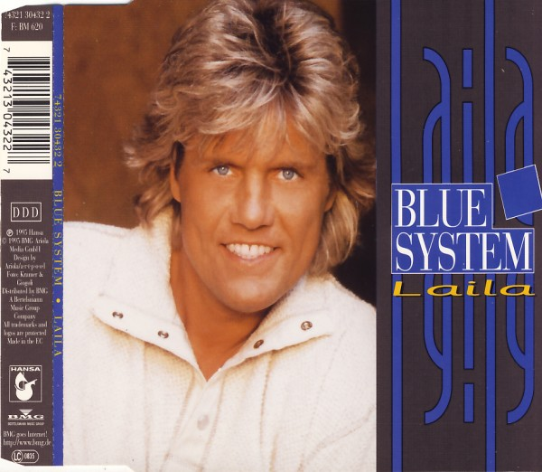 BLUE SYSTEM - Laila - CD Maxi