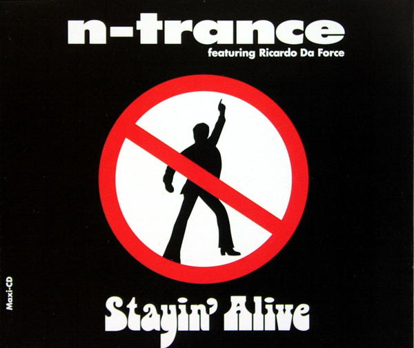 N-TRANCE - Stayin' Alive - CD Maxi