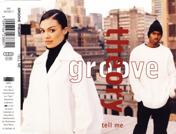GROOVE THEORY - Tell Me - CD Maxi