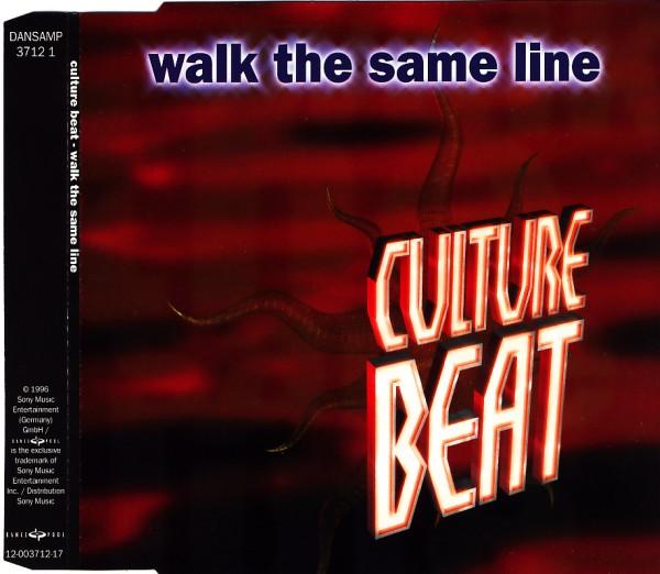 CULTURE BEAT - Walk The Same Line - CD Maxi