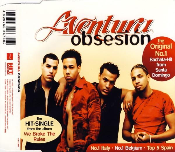 AVENTURA - Obsesion - CD Maxi