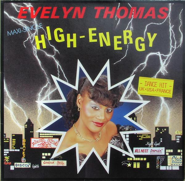 THOMAS, EVELYN - High Energy - 12 inch x 1