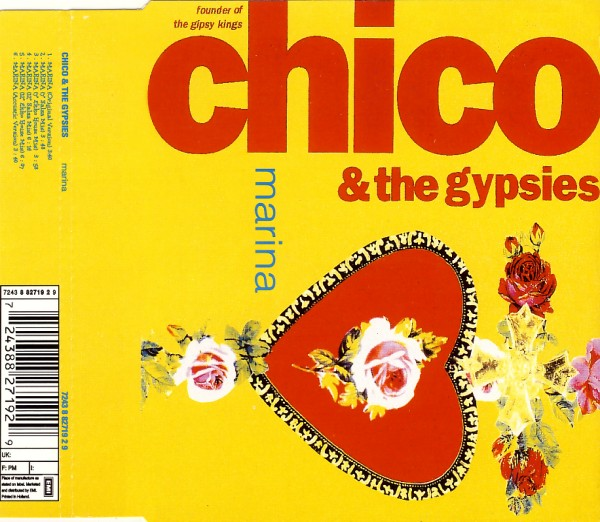 CHICO & THE GYPSIES - Marina - CD Maxi