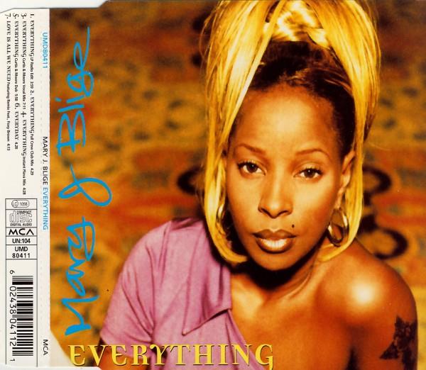BLIGE, MARY J. - Everything - MCD