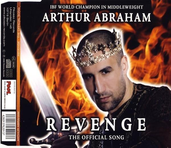 ABRAHAM, ARTHUR - Revenge, The Official Song - CD Maxi