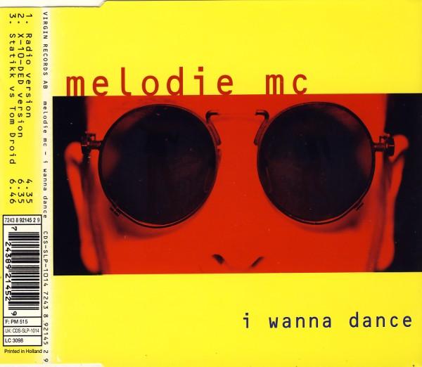 MELODIE MC - I Wanna Dance - MCD