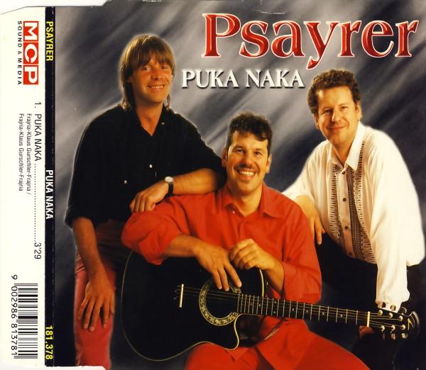 PSAYRER - Puka Naka - CD Maxi