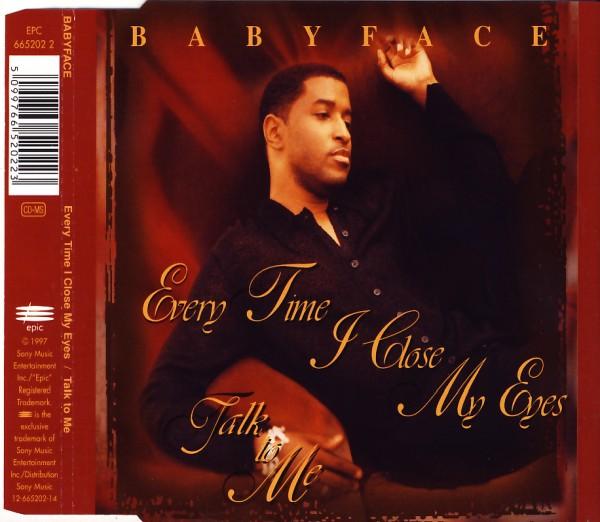 BABYFACE - Every Time I Close My Eyes - MCD