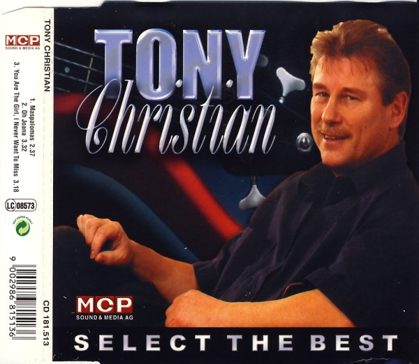 CHRISTIAN, TONY - Select The Best - MCD