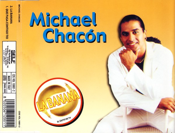 CHACON, MICHAEL - La Banana - CD Maxi