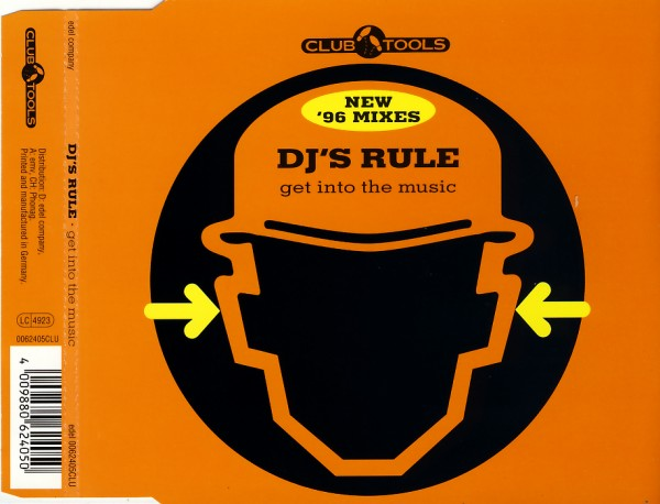 DJ'S RULE - Get Into The Music - MCD