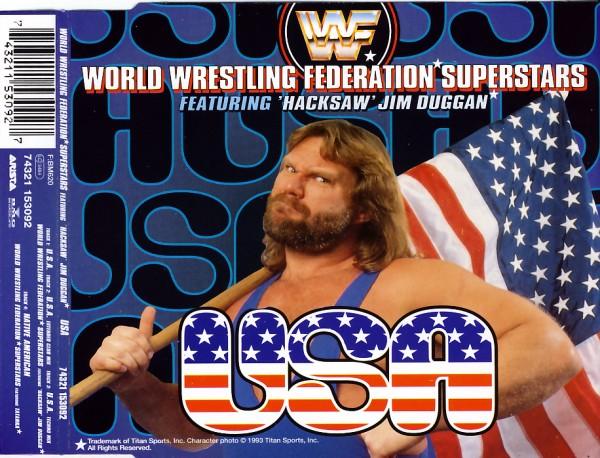 WWF SUPERSTARS - U.S.A. (feat. 'Hacksaw' Jim Duggan) - MCD