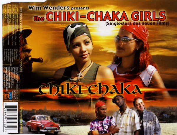 CHIKI-CHAKA GIRLS - Chiki Chaka - CD Maxi