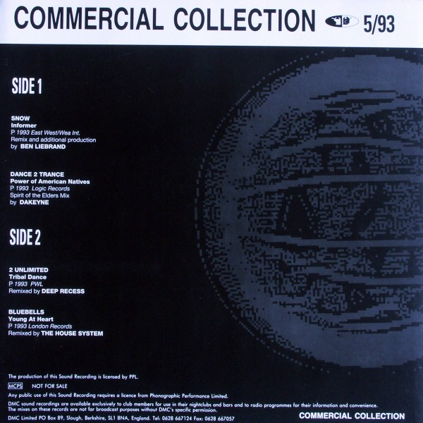 VARIOUS - DMC Commercial Collection 5/93 - LP