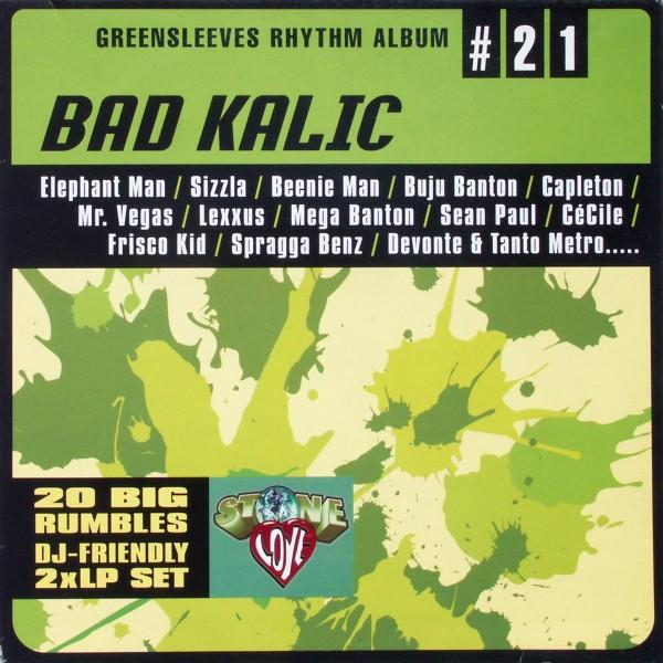 VARIOUS - Greensleeves Rhythm Album Bad Kalic (#21) - 33T x 2