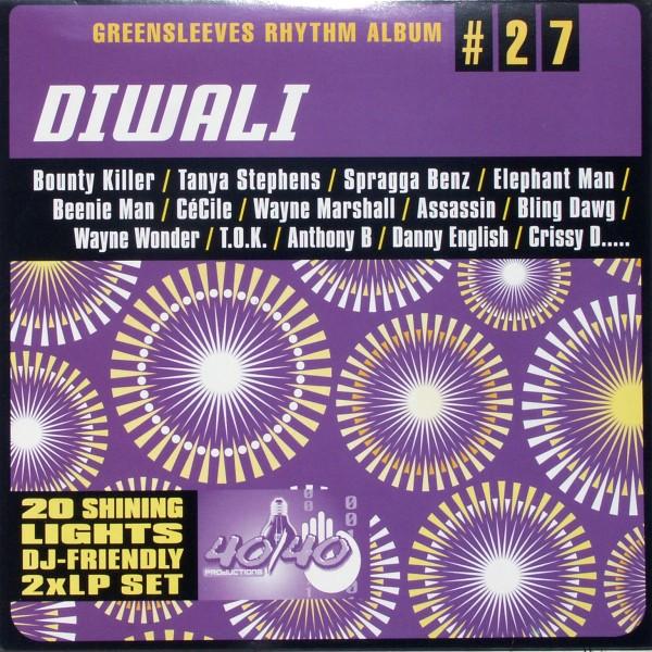 VARIOUS - Greensleeves Rhythm Album Diwali (#27) - 33T x 2