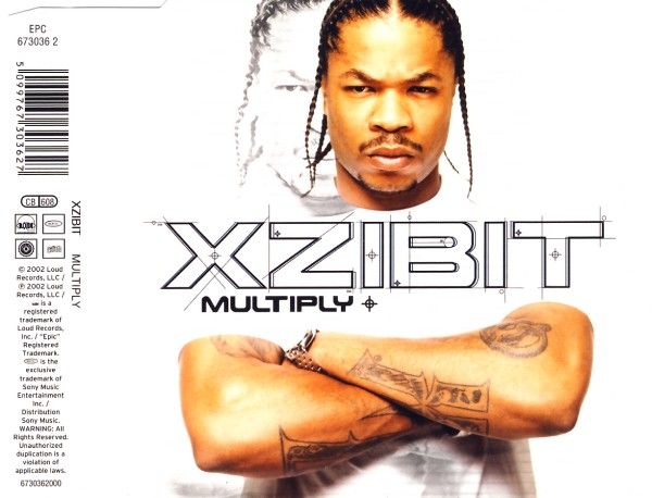 XZIBIT - Multiply (feat. Nate Dogg) - CD Maxi