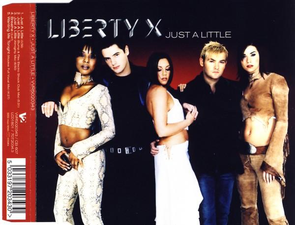 LIBERTY X - Just A Little - MCD