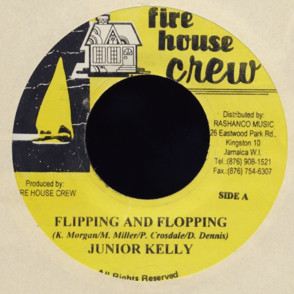 JUNIOR KELLY / SPECTACULAR & LEGO - Flipping And Flopping / Nutten Fi De People - 45T x 1