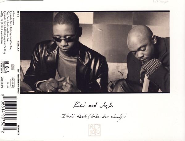 K-CI & JOJO - Don't Rush (Take Love Slowly) - CD Maxi