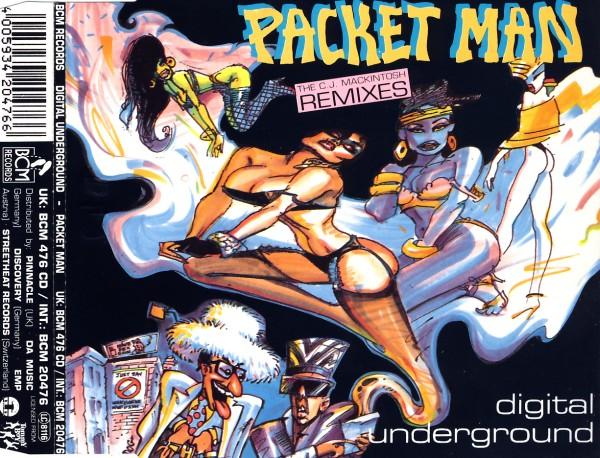 DIGITAL UNDERGROUND - Packet Man - CD Maxi