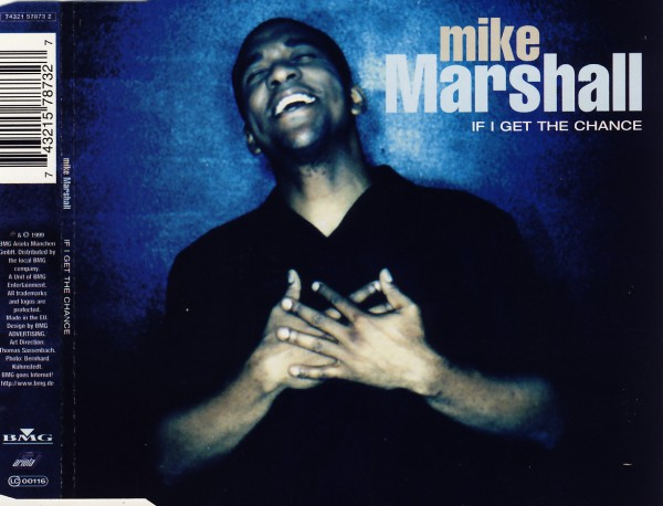 MARSHALL, MIKE - If I Get The Chance - CD Maxi