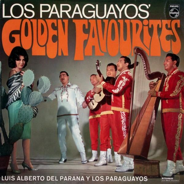 LUIS ALBERTO DEL PARANA Y LOS PARAGUAYOS - Los Paraguayos' Golden Favourites - LP