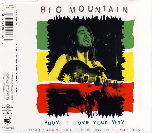 BIG MOUNTAIN - Baby, I Love Your Way - CD Maxi