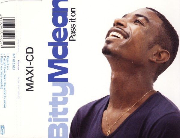 MCLEAN, BITTY - Pass It On - CD Maxi