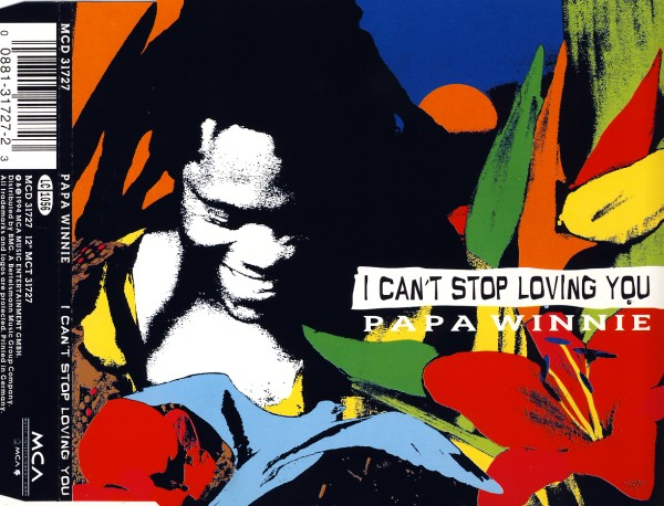 PAPA WINNIE - I Can't Stop Loving You - CD Maxi