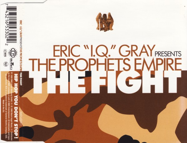 GRAY, ERIC 'IQ' - The Fight - CD Maxi