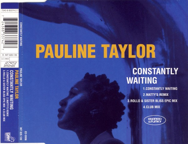 TAYLOR, PAULINE - Constantly Waiting - MCD