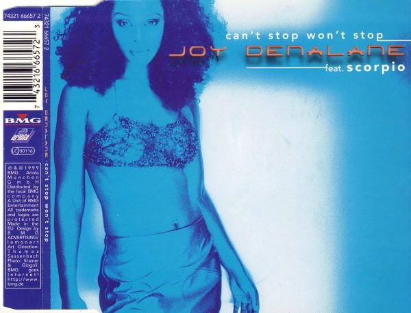 DENALANE, JOY - Can't Stop Won't Stop (feat. Scorpio) - MCD