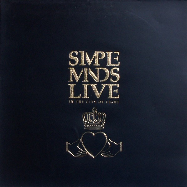 SIMPLE MINDS - Live In The City Of Light - 33T x 2