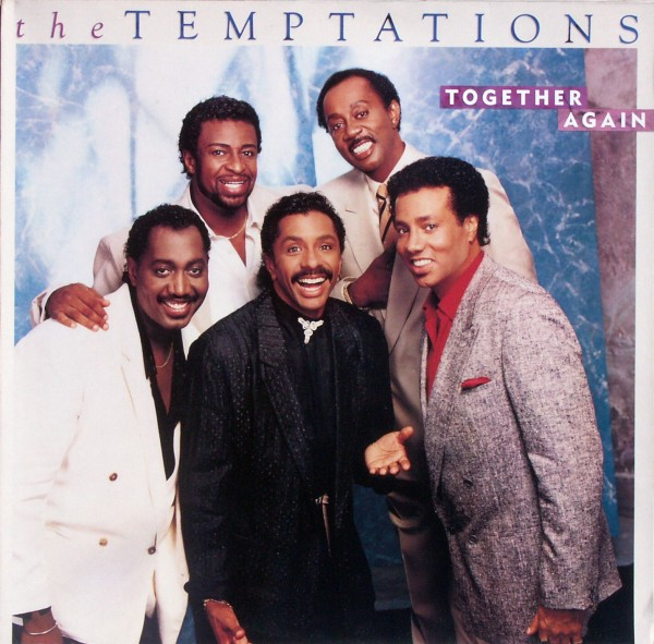 TEMPTATIONS - Together Again - 33T