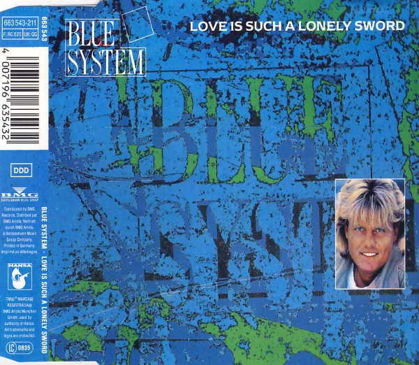 BLUE SYSTEM - Love Is Such A Lonely Sword - MCD