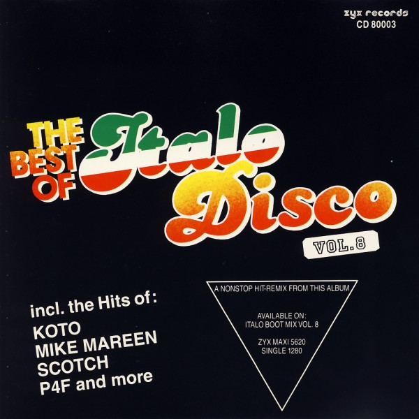 VARIOUS - The Best Of Italo Disco Vol. 8 - CD