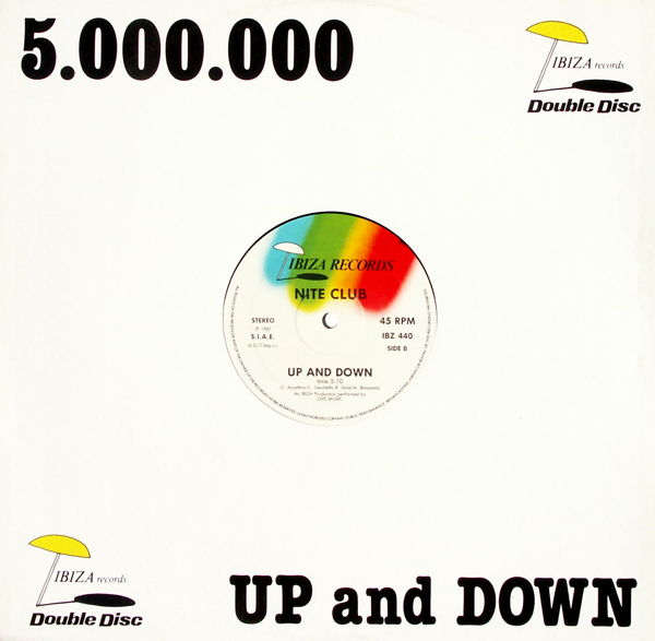 5.000.000/ NITE CLUB - Where Is My Head/ Up And Down - Maxi x 1