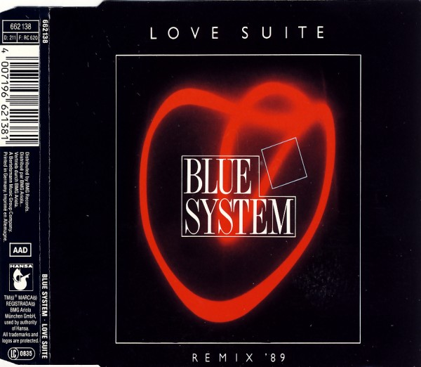BLUE SYSTEM - Love Suite - MCD