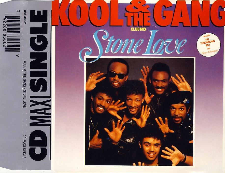 KOOL & THE GANG - Stone Love - CD Maxi