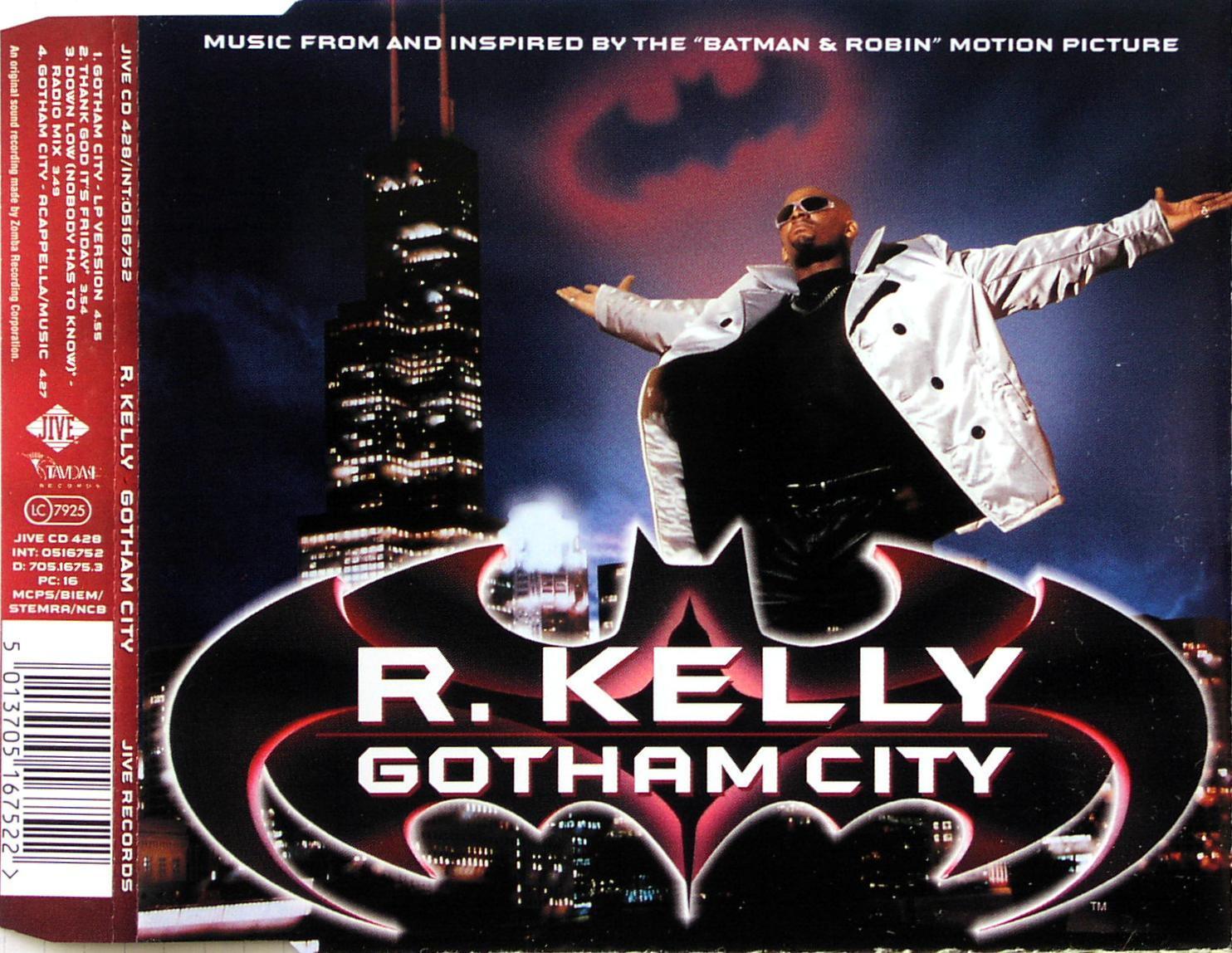 KELLY, R. - Gotham City - CD Maxi